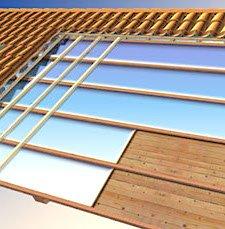 Tetti in legno ventilato